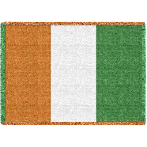 Irish Flag Blanket
