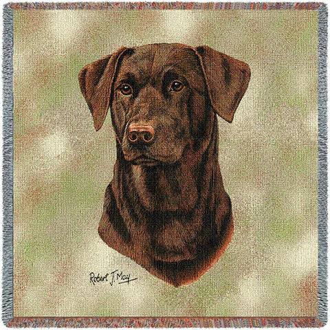 Labrador Retriever Chocolate 2 Small Blanket