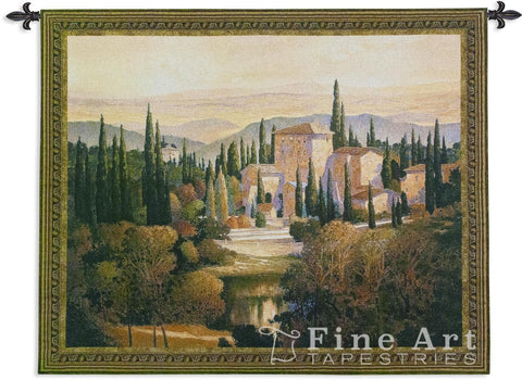 Song Of Tuscany Small Wall Tapestry