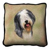 Old English Sheepdog Pillow Cover