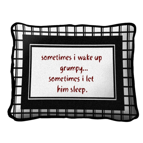 Grumpy Pillow