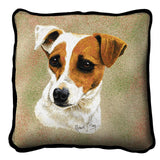 Jack Russell Terrier Pillow Cover