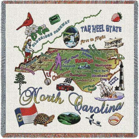 North Carolina State Small Blanket
