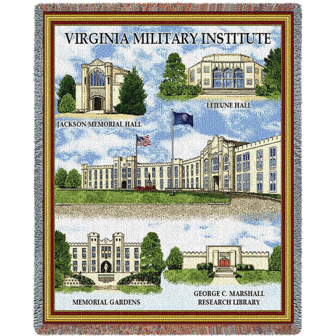 Virginia Military Institute -Stadium Blanket