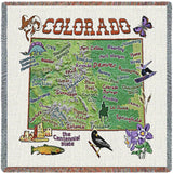 Colorado State Small Blanket