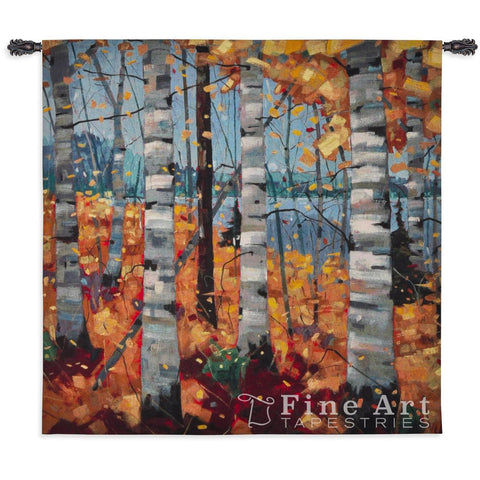 Border View Small Wall Tapestry