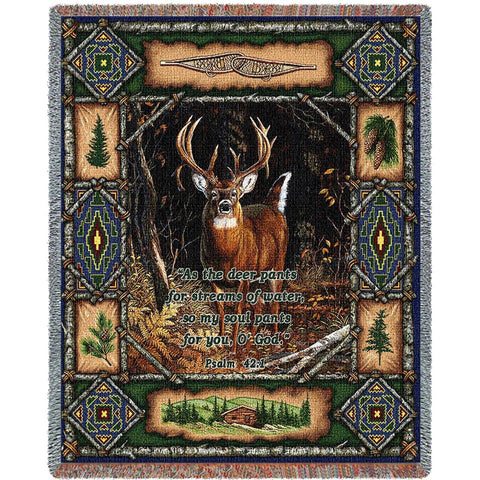 Deer Lodge Psalm Blanket