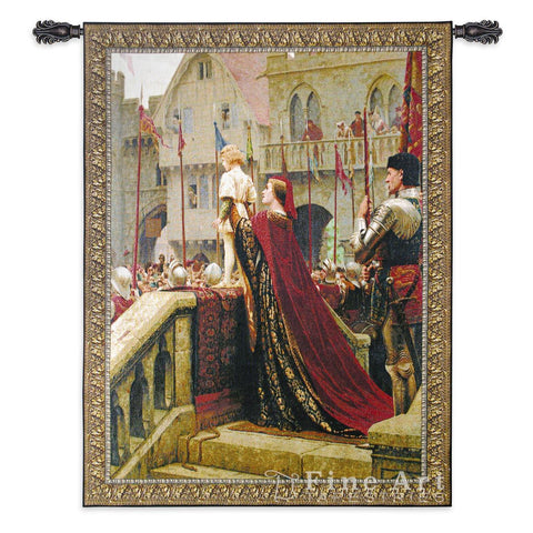 A Little Prince Likely in Time to Bless a Royal Throne Wall Tapestry