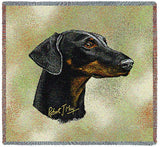 Doberman Pinscher 2 Small Blanket