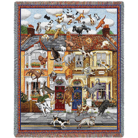 Raining Cats and Dogs Blanket