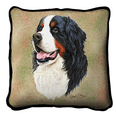 Bernese Mountain Pillow