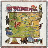 Wyoming State Small Blanket