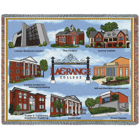 LaGrange College Campus Stadium Blanket