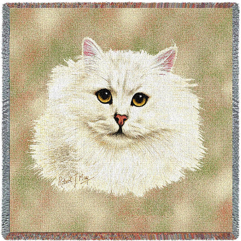 Chinchilla Persian Small Blanket