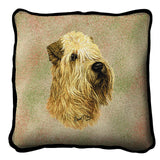 Soft Coated Wheaten Terrier Pillow Cover