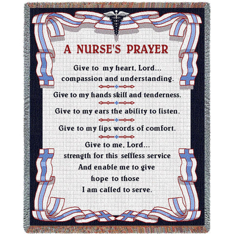 A Nurse's Prayer Blanket