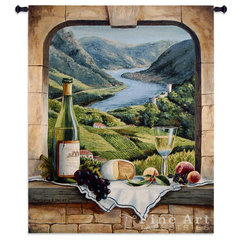Rhine Wine Moment Wall Tapestry