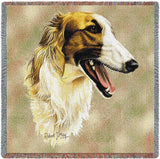 Borzoi Small Blanket