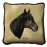Morgan Horse Pillow Cover