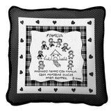 Family Memories Spanish Pillow