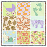 Baby Nine Patch Small Blanket