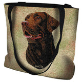 Labrador Retriever Chocolate Tote Bag
