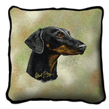 Doberman Pinscher 2 Pillow Cover