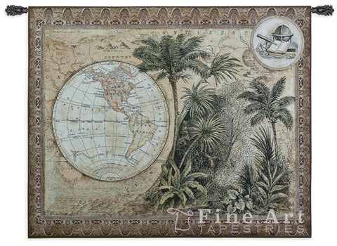 Global Safari II Wall Tapestry