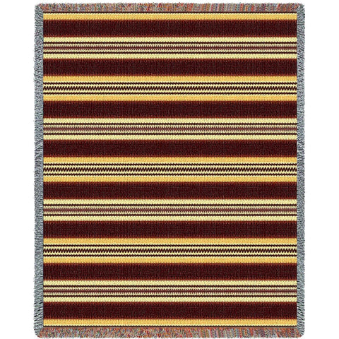 Southwest Saddleblanket Gold Blanket