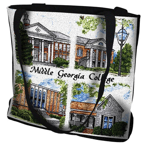 Middle Georgia College Cochran Campus Tote Bag