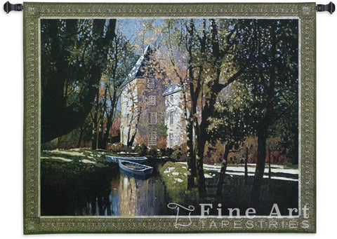 Chateau D'Annecy Wall Tapestry