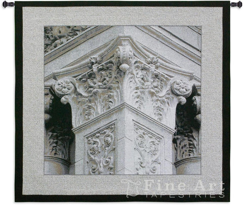 Architectural Detail IV Medium Wall Tapestry