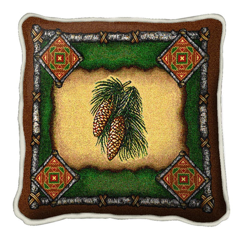 Pinecone Lodge Pillow