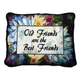 Old Friends Floral Pillow