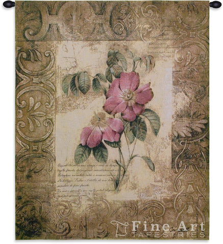 Blossoming Elegance III Small Wall Tapestry