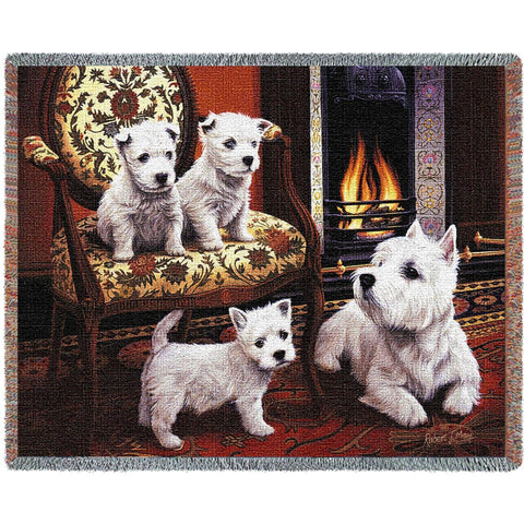 West Highland White Terrier Blanket