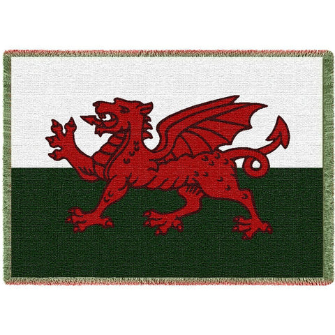Welsh Dragon Blanket
