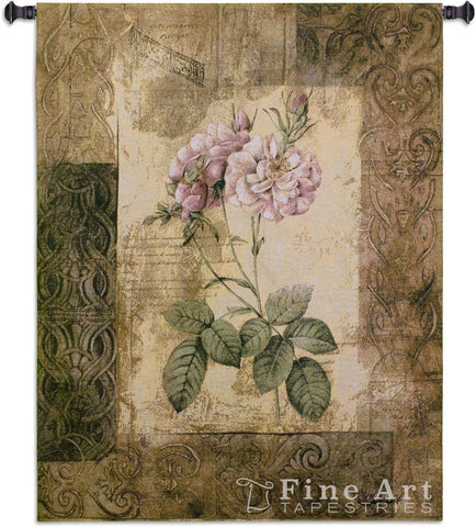 Blossoming Elegance II Medium Wall Tapestry