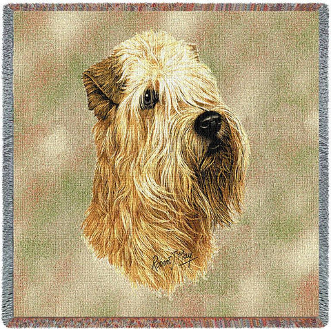 Soft Coated Wheaten Terrier Small Blanket
