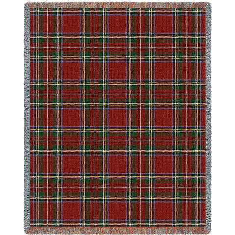Stewart Royal Plaid Blanket