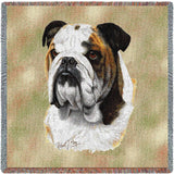Bulldog Small Blanket