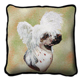 Chinese Crested Dog Pillow Cover