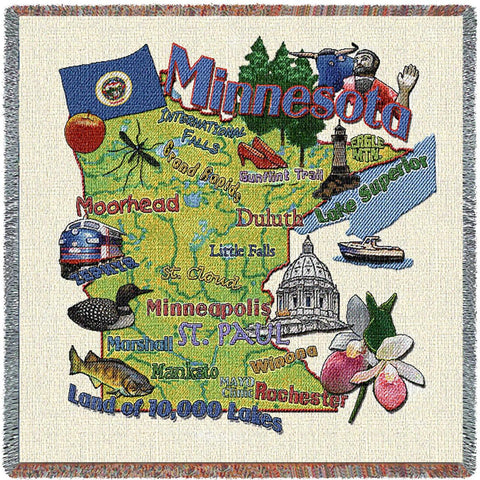 Minnesota State Small Blanket