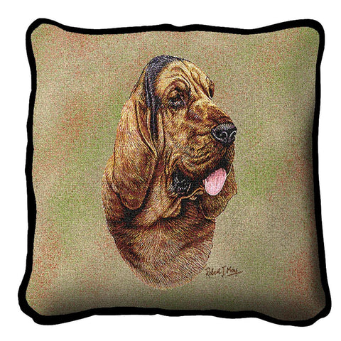 Bloodhound Pillow