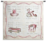 Pink Fun Wall Tapestry