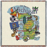 Michigan State Small Blanket