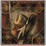 Bamboo Nine Patch Large Wall Tapestry