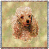 Poodle Cream Small Blanket