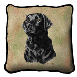 Labrador Retriever Black Pillow