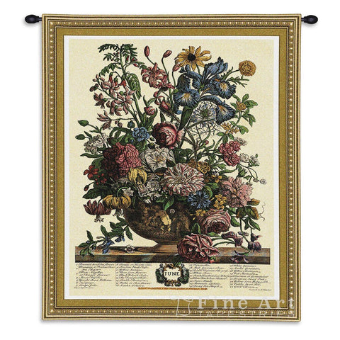 June Botanical Wall Tapestry